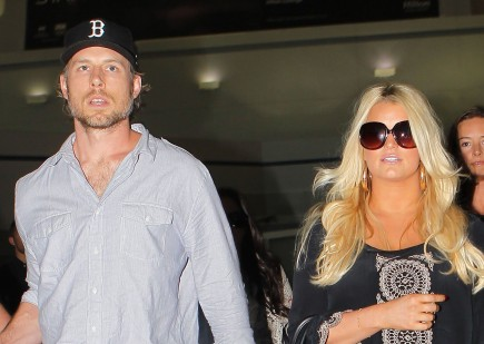 Eric Johnson and Jessica Simpson. Photo: CWNY/FAMEFLYNET