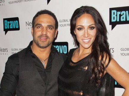 Joe Gorga and Melissa Gorga. Photo:  Marco Sagliocco / PR Photos