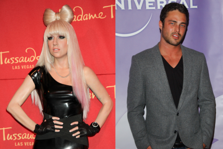 Lady Gaga and Taylor Kinney. Photos: PRN / PR Photos; Albert L. Ortega / PR Photos