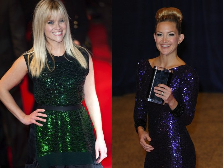 Reese Witherspoon and Kate Hudson have look-alike daughters. Photo: Landmark / PR Photos; Aaron J. Thornton / PR Photos