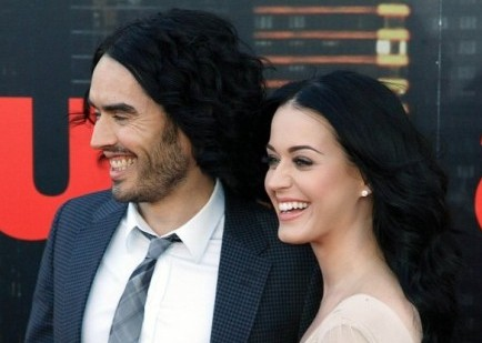 Russell Brand and Katy Perry. Photo: Landmark / PR Photos
