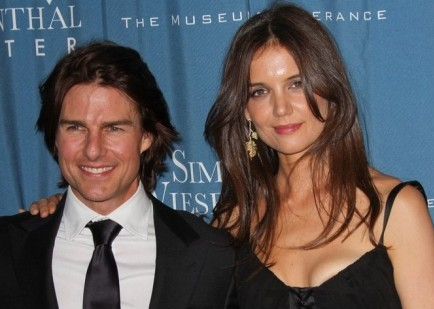 Tom Cruise and Katie Holmes. Photo: Andrew Evans / PR Photos