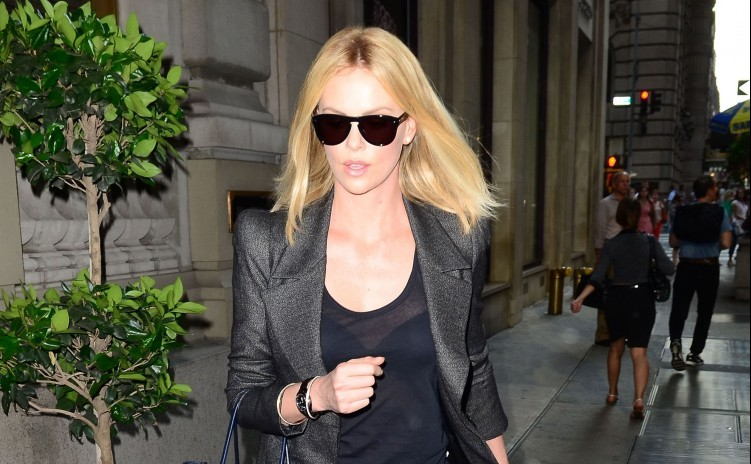 Cupid's Pulse Article: Charlize Theron Discusses Her 'Scary' Blind Date For Charity