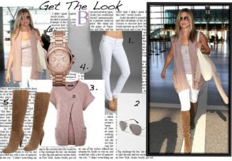 Cupid's Pulse Article: Jennifer Aniston's Simple Style