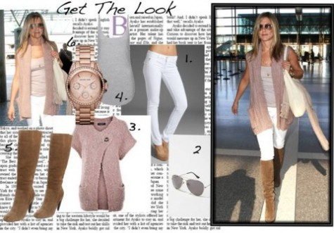 Cupid's Pulse Article: Jennifer Aniston's Simple Style