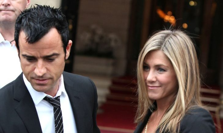 Cupid's Pulse Article: Jennifer Aniston Shows Off Engagement Ring on a Date with Justin Theroux
