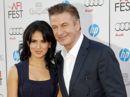 Alec Baldwin and Hilaria Thomas. Photo: David Gabber / PRPhotos.com