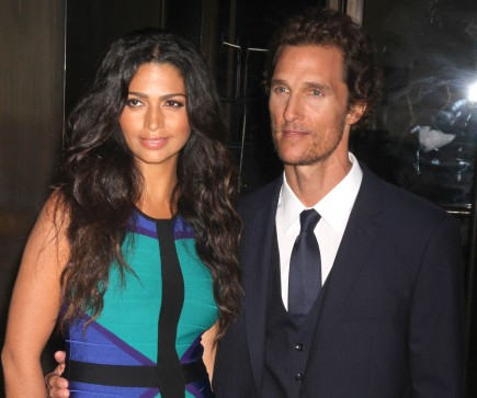 Camila Alves and Matthew McConaughey. Photo: GG/FAMEFLYNET
