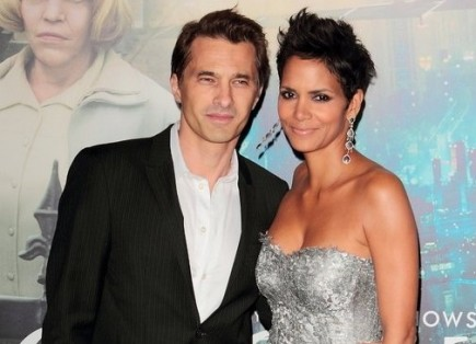 Olivier Martinez and Halle Berry. Photo: Tina Gill / PR Photos