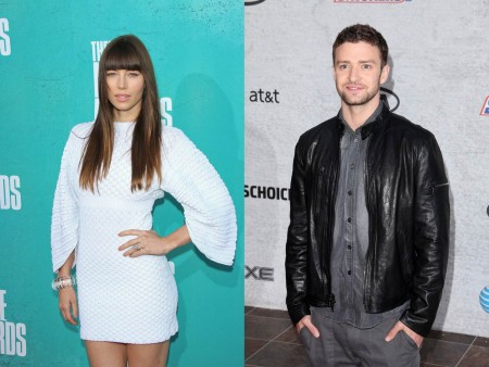 Jessica Biel and Justin Timberlake. Photos: Andrew Evans  / PR Photos; Andrew Evans  / PR Photos