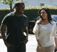 Kim Kardashian and Kanye West Visit a Children's Hospital