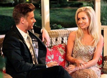 Cupid's Pulse Article: 'Bachelorette' Star Emily Maynard Toasts Fiance Jef Holm's Birthday at Dinner Party