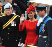 Prince William and Kate Hang with Prince Harry at the Diamond Jubilee
