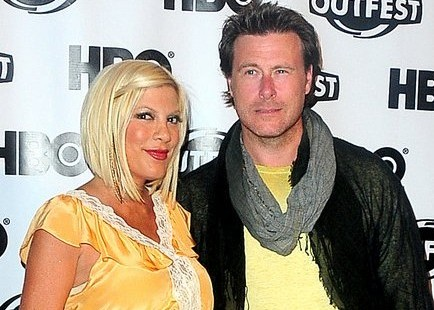 Tori Spelling and Dean McDermott. Photo: Claudio Uema / PR Photos