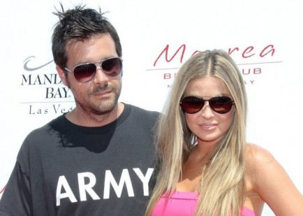 Rob Patterson and Carmen Electra. Photo: PRN / PR Photos