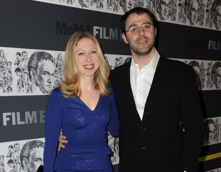 Chelsea Clinton and Marc Mezvinsky. Photo: AAR/FAMEFLYNET PICTURES