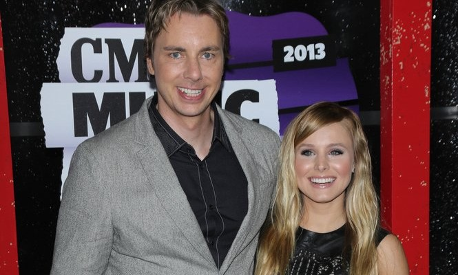 Dax Shepard and Kristen Bell announce their second pregnancy. Photo: Andrew Evans  / PR Photos