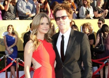 Kyra Sedgwick and Kevin Bacon. Photo: Andrew Evans / PR Photos