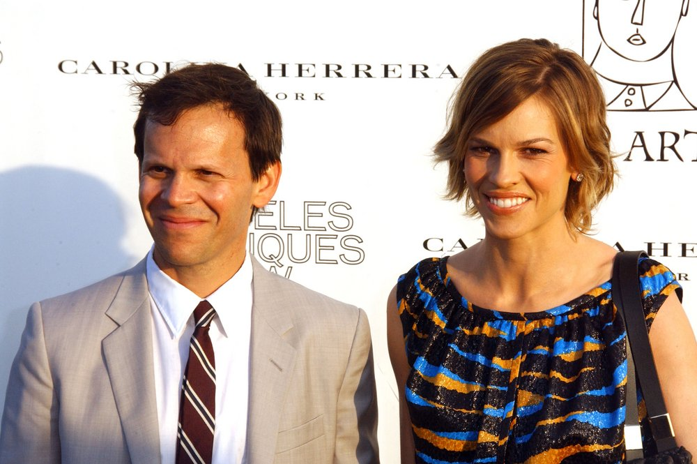 John Campisi and Hilary Swank. Photo: Albert L. Ortega / PR Photos