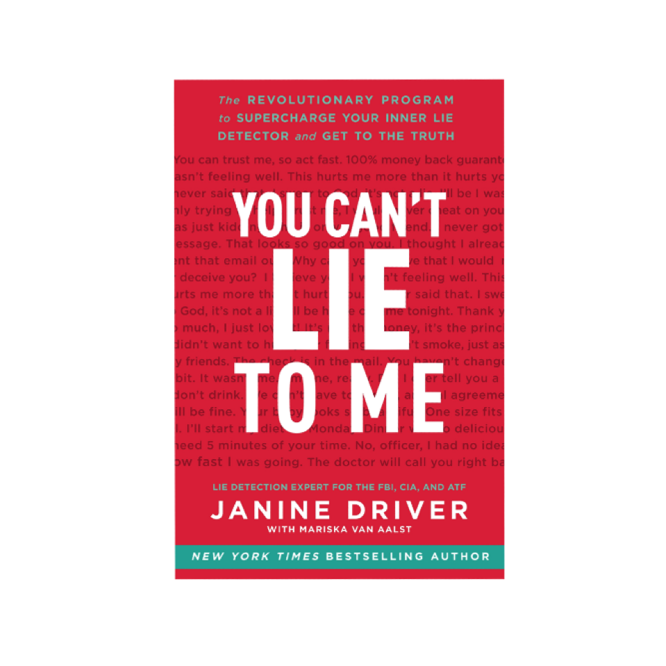 Cupid's Pulse Article: Author Janine Driver Shows How Catching Someone in a Lie Can Save Your Relationship in New Book, 'You Can't Lie to Me'