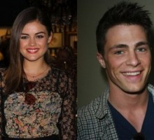 Lucy Hale Insists She's Not Dating Colton Haynes