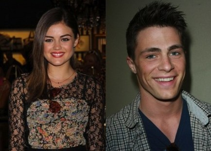 Cupid's Pulse Article: Lucy Hale Insists She's Not Dating Colton Haynes