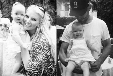 Cupid's Pulse Article: Jessica Simpson Celebrates Eric Johnson's Birthday with Baby Maxwell
