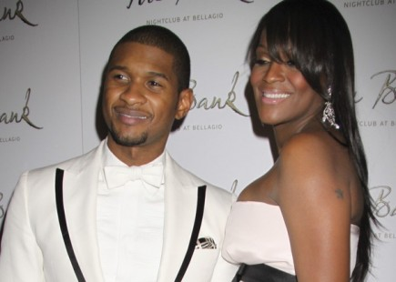 Usher and Tameka Foster. Photo: PRN / PR Photos