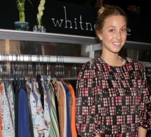 New York Fashion Week: Whitney Port Steps Out in Style for Nine West