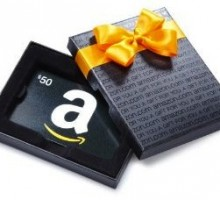 Giveaway: Let Your Partner Choose His Own Gift with a $50.00 Amazon.com Gift Card