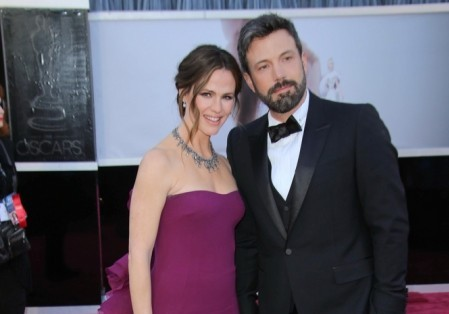 Ben Affleck and Jennifer Garner. Photo: Andrew Evans / PR Photos