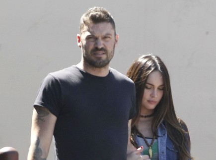 Cupid's Pulse Article: Celebrity News: Brian Austin Green Takes Baby Noah for a New York City Walk
