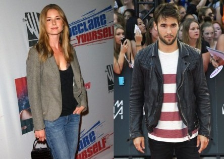 Emily VanCamp and Josh Bowman. Photo: Albert L. Ortega / PR Photos; Robin Wong / PR Photos