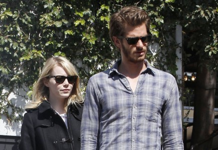 Emma Stone and Andrew Garfield. Photo: FAMEFLYNET