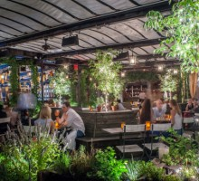 Grand Opening: New Rooftop Garden at 'Sleep No More,' Gallow Green