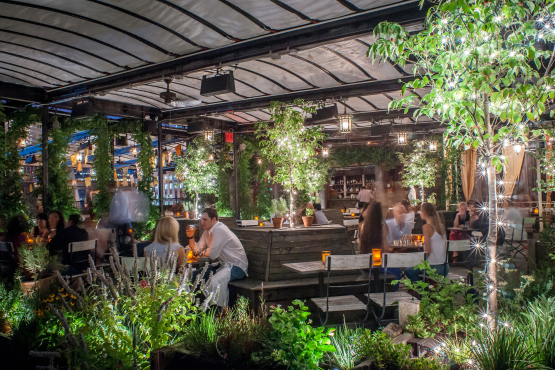 Cupid's Pulse Article: Grand Opening: New Rooftop Garden at 'Sleep No More,' Gallow Green