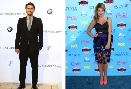 James Franco and Ashley Benson. Photo: Landmark / PR Photos; Andrew Evans / PR Photos