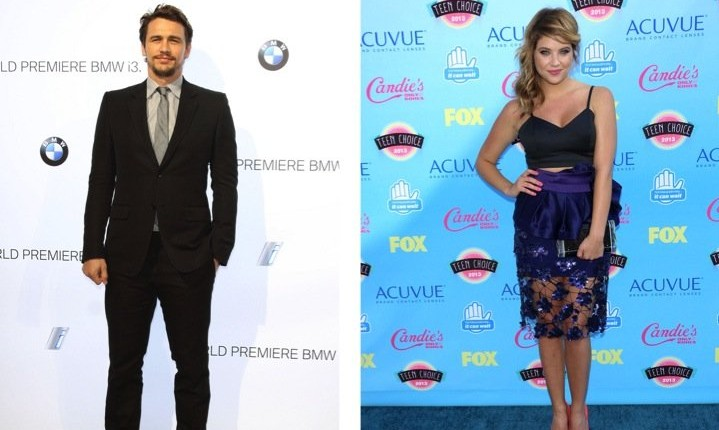 Cupid's Pulse Article: Rumor: James Franco and Ashley Benson Are Dating