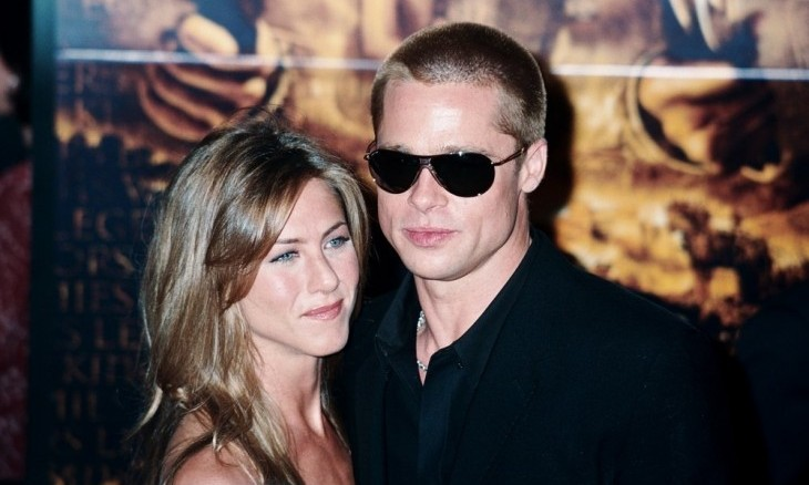 Cupid's Pulse Article: Celebrity News: Brad Pitt Attends Ex Jennifer Aniston's Birthday Party
