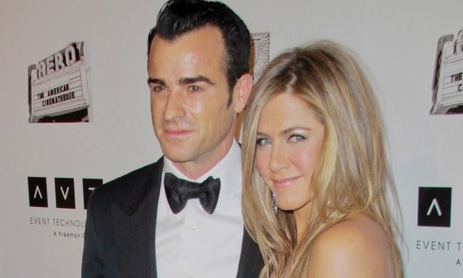 Cupid's Pulse Article: Jennifer Aniston Partially Credits Justin Theroux with Her Happiness Level