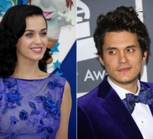 Katy Perry and John Mayer Hang with Friends