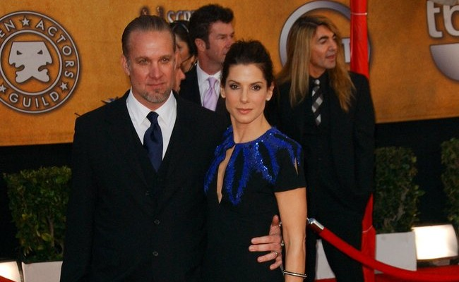 Jesse James and Sandra Bullock. Photo: Albert L. Ortega / PR Photos