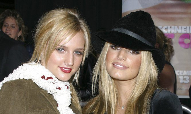 Cupid's Pulse Article: Celebrity Break-Ups: Ashlee Simpson Wasn't Totally Surprised By Jessica Simpson & Nick Lachey's Split