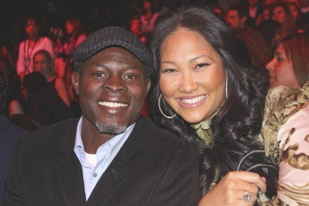 Djimon Hounson and Kimora Lee Simmons. Photo: Wild1 / PR Photos