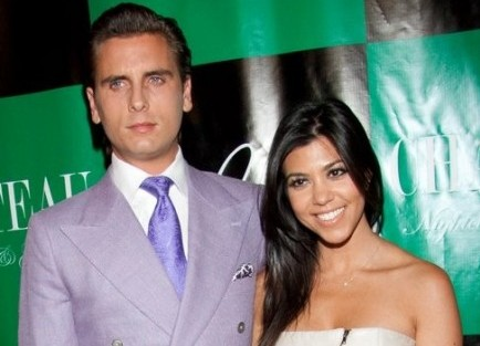Scott Disick and Kourtney Kardashian. Photo: Justin Paludipan / PR Photos