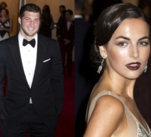 Tim Tebow Steps Out with New Girlfriend Camilla Belle