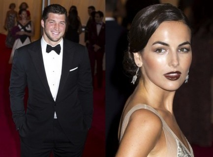 Cupid's Pulse Article: Tim Tebow Steps Out with New Girlfriend Camilla Belle