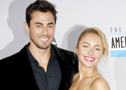Hayden Panettiere and Scotty McKnight. Photo: David Gabber / PRPhotos.com