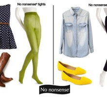 Celebrity Looks for the No nonsense® Girl