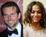 Bradley Cooper Brings Zoe Saldana to 'Silver Linings Playbook' Party